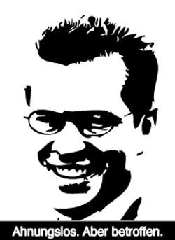 Wirtschaftsminister Guttenberg: Ahnunglos, aber betroffen