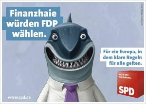 Finanzhaie würden FDP wählen